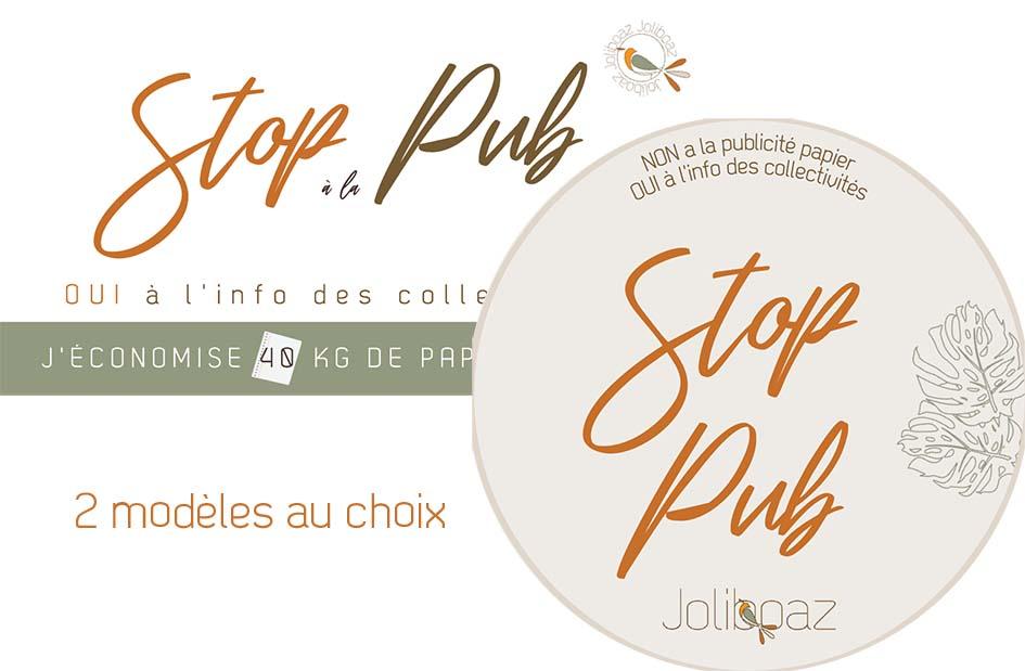 STOP PUB Joliboaz